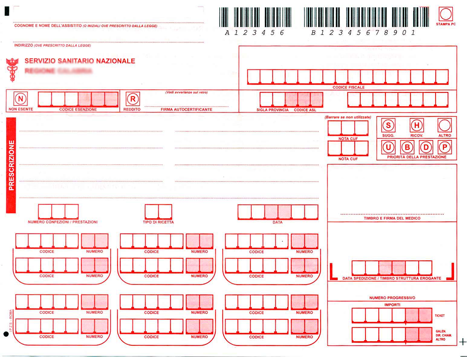 esenzione ticket SSN