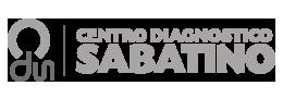 Logo per il Footer del Centro Diagnostico Sabatino
