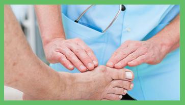 visita salute del piede