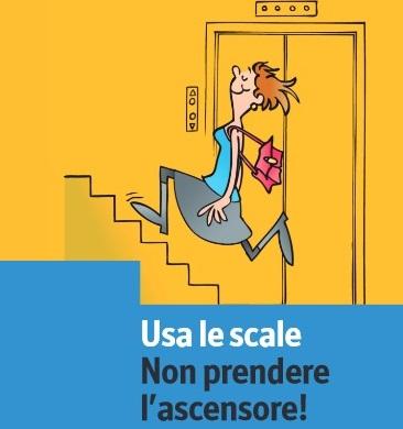 Salire e scendere le scale, un toccasana
