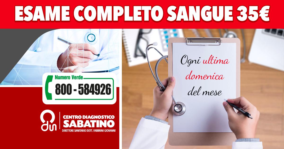 Centro Diagnostico Sabatino Analisi del sangue